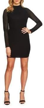 Cynthia Steffe Pique Lace Bodycon Dress