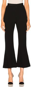 David Koma Ribbon Waistband Culottes in Black.