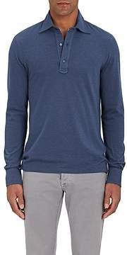 Isaia Men's Cotton Piqué Polo Shirt