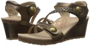 Aetrex Naya Wedge Sandal Women's Wedge Shoes