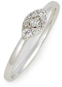 Bony Levy Mika Marquise Diamond Stacking Ring