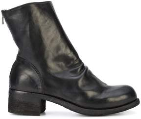 Officine Creative Hubble creased ankle boots