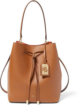 Ralph Lauren Lauren Leather Debby Drawstring Bag