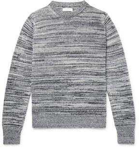 Richard James Mélange Linen And Cotton-Blend Sweater