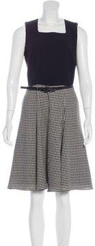 Andrew Gn Wool-Blend A-Line Dress