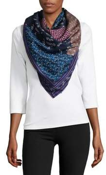 BCBGeneration Wonderland Patch Square Scarf