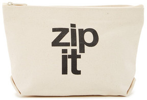 Dogeared Green Monday Zip It Pouch