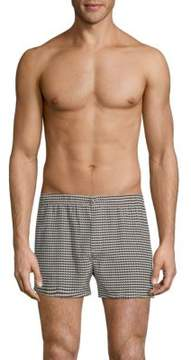 Marc by Marc Jacobs Printed Cotton Boxer Shorts