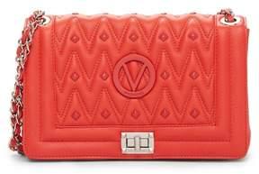Mario Valentino Valentino By Alice Diamond Leather Shoulder Bag