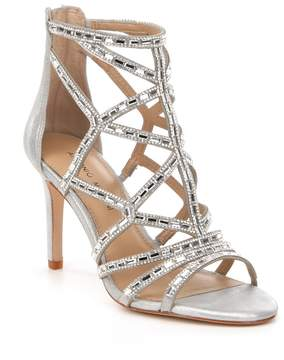 Antonio Melani Faina Caged Jeweled Dress Sandals