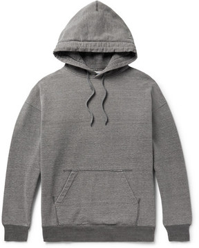 Beams Mélange Loopback Cotton-Jersey Hoodie