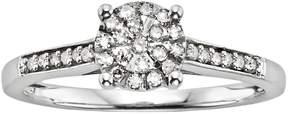 Brilliance+ Diamond Brilliance Sterling Silver 1/5-ct. T.W. Diamond Ring