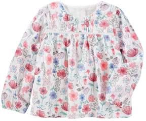 Osh Kosh Oshkosh Bgosh Toddler Girl Floral Woven Top