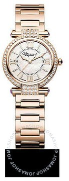 Chopard Imperiale Diamond Mother of Pearl Dial 18 kt Rose Gold Ladies Watch