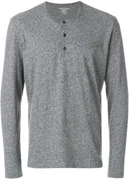 Majestic Filatures front button jumper