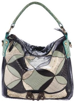 Derek Lam Small Anthea Snakeskin Shoulder Bag