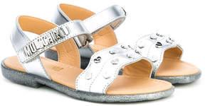 Moschino Kids studded sandals