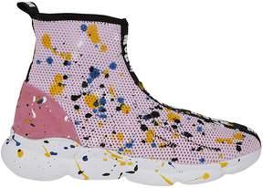 MSGM Paint Splat Sneakers