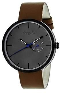 Simplify Men's The 3900 Quartz Watch.