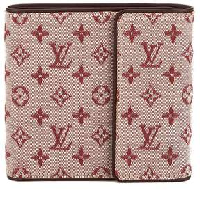 Louis Vuitton Sepia Monogram Mini Lin Canvas Trifold Wallet - SEPIA - STYLE