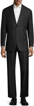 Andrew Marc Marc by Men's Solid Two-Piece Suit