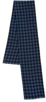 Saks Fifth Avenue COLLECTION Houndstooth Silk Scarf