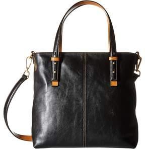 Vera Bradley Sagebrush Satchel Satchel Handbags - BLACK - STYLE