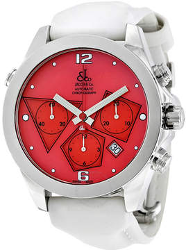 Jacob & co Jacob and Co. Automatic Chronograph Red Dial Men's Watch