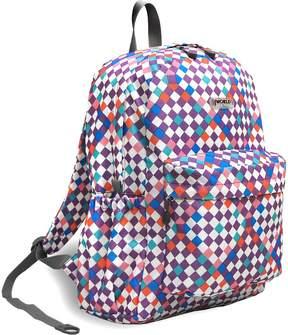 J World Purple Checkers Oz Daypack
