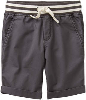 Gymboree Slate Grey & Asphalt Camp Pull-On Shorts - Boys