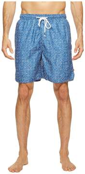 True Grit Waterman Bali Drawstring Swim Shorts w/ Lining