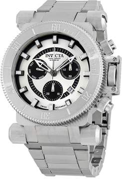 Invicta Coalition Forces Chronograph Silver Dial Men's Watch