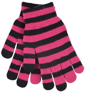 Vans Magical Touchscreen Compatible Gloves-Pink/Black-O/S