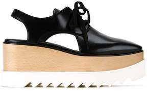 Stella McCartney Elyse cut-out platform shoes