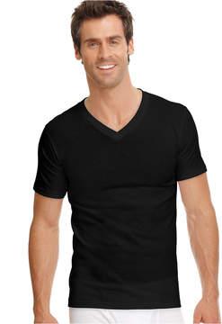 Jockey Men's Tagless Cotton Classic V-Neck 3-Pack Undershirts