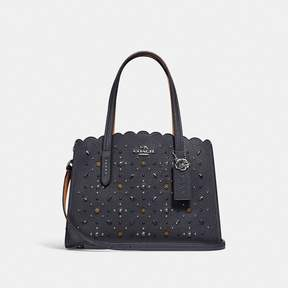 Coach New YorkCoach Charlie Carryall 28 With Prairie Rivets
