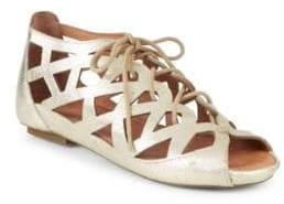 Gentle Souls By Kenneth Cole Leather Sandals