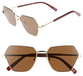 Elizabeth and James Women's Henly 56Mm Sunglasses - Gold
