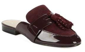 424 Fifth Galvin Leather Mules