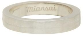 Miansai Half-Layered Ring - Size 8