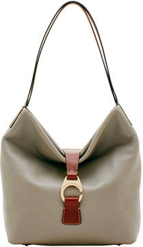 Dooney & Bourke Derby Pebble Large Hobo - PUTTY - STYLE