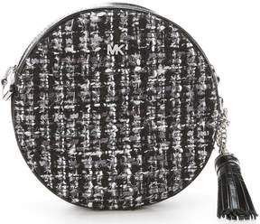 MICHAEL Michael Kors Tweed Canteen Cross-Body Bag