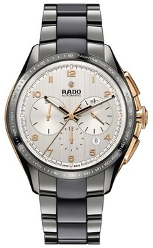 Rado Men's Hyperchrome Automatic Chronograph Bracelet Watch, 45Mm