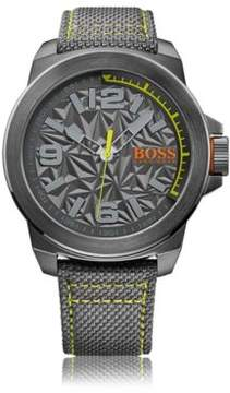 BOSS Hugo Analog Stainless Steel Textile Strap Watch 1513344 One Size Assorted-Pre-Pack