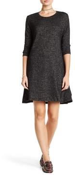 Angie Long Sleeve Knit Swing Dress