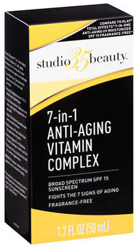 Studio 35 Beauty 7 in 1 Anti-Aging Vitamin Complex, SPF 15 Fragrance Free