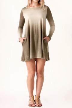 Cherish Ombre Pocket Dress