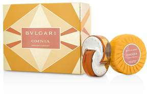 Bvlgari Omnia Indian Garnet Coffret: Eau De Toilette Spray 40ml/1.35oz + Scented Soap 150g/5.3oz