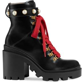 Gucci Leather ankle boot