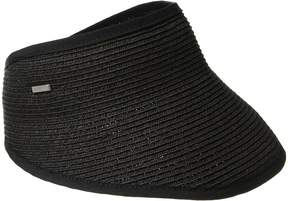 San Diego Hat Company UBV043 Sport Visor with A Stretch Band Closure Casual Visor